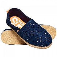 [해외]슈퍼드라이 Jetstream Espadrille Dark Navy Broderie