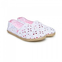 [해외]슈퍼드라이 Jetstream Espadrille White Broderie