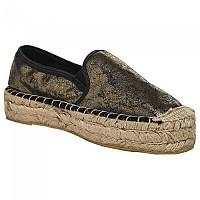 [해외]슈퍼드라이 Polly Flat Form Espadrille Gold Crackle