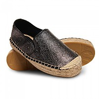 [해외]슈퍼드라이 Polly Flatform Espadrille Pewter Crackle