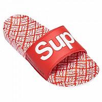 [해외]슈퍼드라이 Aop Beach Slide Super Red / Optic White / White Tile Aop
