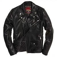 [해외]슈퍼드라이 Hero Leather Biker Black