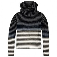 [해외]슈퍼드라이 Nordic Ombre Funnel Black / White Stripe