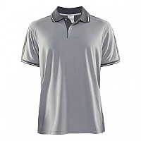 [해외]크래프트 Noble Pique Polo Grey Melange / Dark Grey Melange