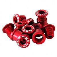 [해외]MSC Chainring Bolts Kit Alu7075T6 12 Units Red