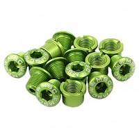 [해외]MSC Chainring Bolts Kit Alu7075T6 15 Units Green