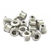 [해외]MSC Chainring Bolts Kit Alu7075T6 15 Units Silver
