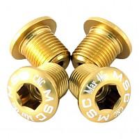 [해외]MSC Chainring Bolts Kit Alu7075T6 4 Units Gold