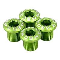 [해외]MSC Chainring Bolts Kit Alu7075T6 4 Units Green