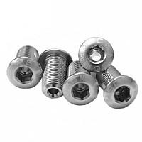 [해외]MSC Chainring Bolts Kit Alu7075T6 5 Units Silver