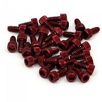 [해외]MSC Superflat Pedal Pins Red