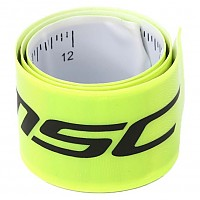 [해외]MSC Color Reflective Band With Ruler Yellow