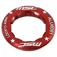 [해외]MSC Single Speed Casette Lock Ring Red