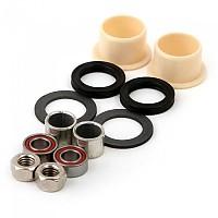 [해외]MSC Bearings Pedals AN1403 Kit Black / Silver / White