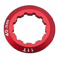 [해외]PROGRESS PG 25 Cassette Lock Ring Aluminium Campagnolo 11D Red