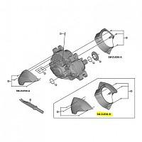 [해외]시마노 Drive Unit DUE80A Steps STD Cover Black
