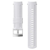 [해외]순토 Athletic 1 Silicone Strap White / Steel