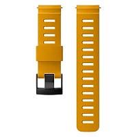 [해외]순토 24mm Dive 1 Silicone Strap Amber / Black