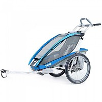 [해외]툴레 Thule Chariot Cx1+Cycle Blue