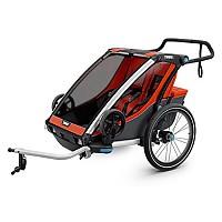 [해외]툴레 Chariot Cross 2+Bike Kit Orange