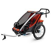 [해외]툴레 Chariot Cross 1+Cycle/Stroll Jogging Strollers Orange
