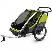 [해외]툴레 Chariot Cab 2 Lime / Black