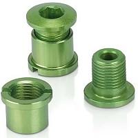 [해외]XLC Chain Ring Screws Coloured Edition 5 Pieces Lime Green