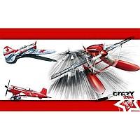 [해외]STT SPORT Crazy Towel Red Air Race Terry Loop Red