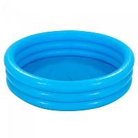 [해외]인텍스 Inflable 3 Rings Pool Blue