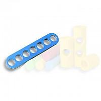 [해외]OLOGY Noodle Connector 7 Holes Blue/White