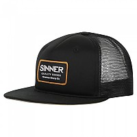 [해외]SINNER Cap Logo Badge Black