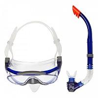 [해외]스피도 Glide Mask Snorkel Set Grey / Blue