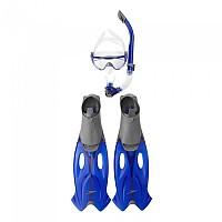[해외]스피도 Glide Mask Snorkel Fin Set Grey / Blue