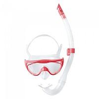[해외]스피도 Glide Junior Snorkle Set Pink