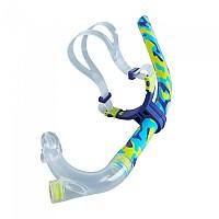 [해외]스피도 Center Snorkel Mash Up Turquoise / Lime Punch