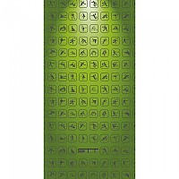 [해외]STT SPORT Crazy Towel Multisport Terry Loop Green