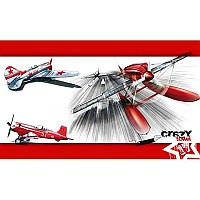 [해외]STT SPORT Crazy Towel Red Air Race Terry Loop Red