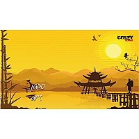 [해외]STT SPORT Crazy Towel Japanese Art Terry Loop Yellow