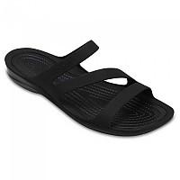 [해외]크록스 Swiftwater Sandal Black / Black
