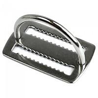 [해외]EPSEALON Weight Belt Keeper With D Ring Silver