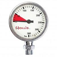 [해외]HOLLIS SPG 0 400 Bar Brass 0-400 Bar Brass