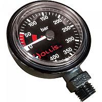 [해외]HOLLIS Low Profile Pressure Gauge Module Metal Black