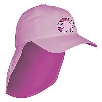 [해외]iQ-Company UV 200 Kids Cap & Neck Candyfish Pink