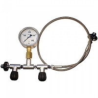 [해외]METALSUB Oxygen technical equalizer with valve and gauge.
