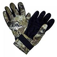 [해외]SIGALSUB Gloves Reinforced 2 mm Lined Leather Mimetic
