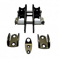 [해외]SIGALSUB Roller Line: Kit Simple Pulleys/Stopper Aluminum