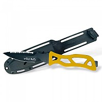[해외]스페톤 Mako Knive Black Blade Handle with Cover Yellow