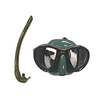 [해외]SPETTON Excell Green Mimetic Mask and Snorkel Mimetic / One Size