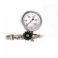 [해외]TECNOMAR Surface Pressure Gauge for Tank Equalizer TRIMIX