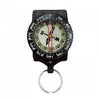 [해외]TECNOMAR Compass With Inox Clip Black